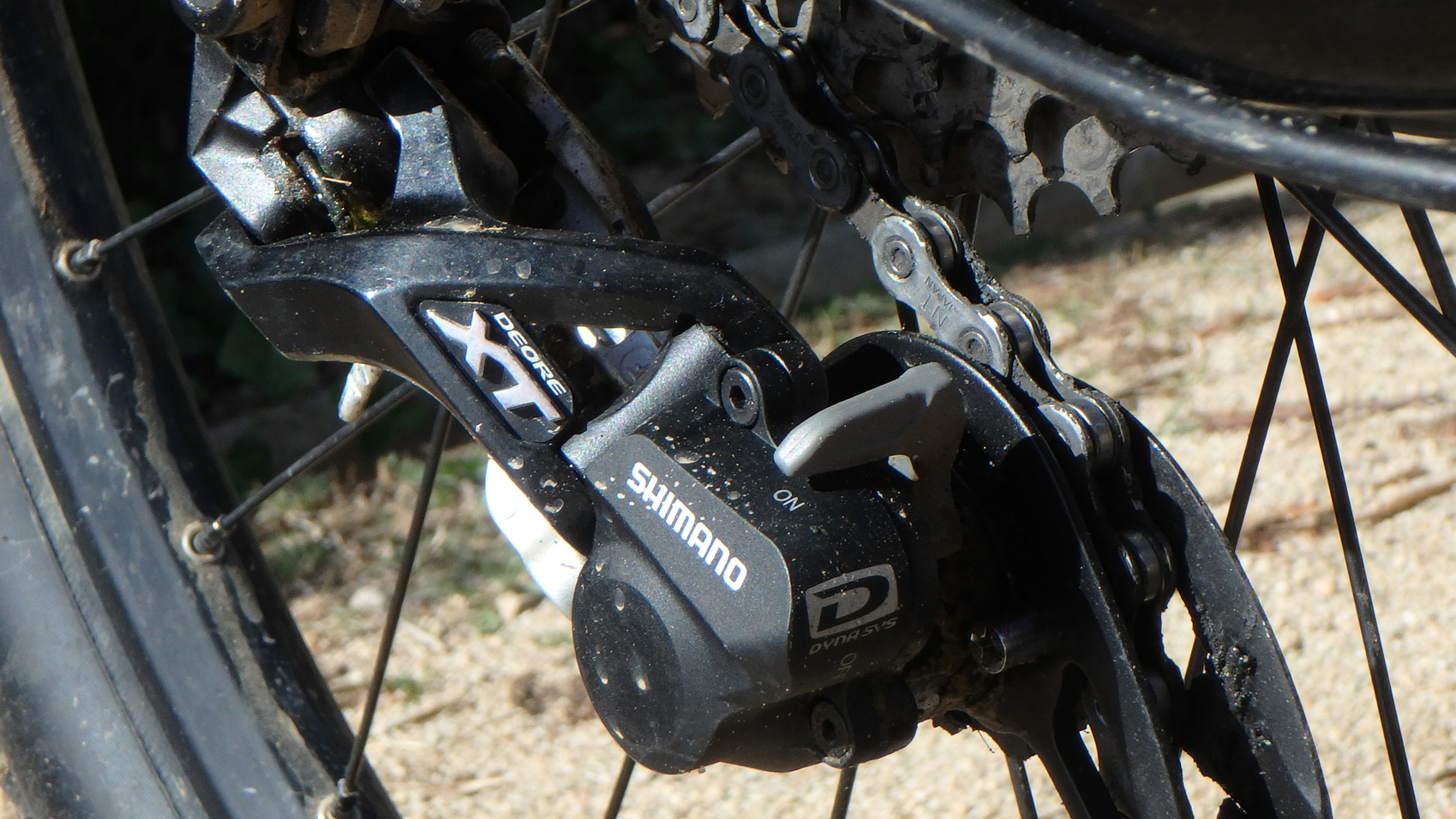 Cambio Shimano XT Shadow Plus