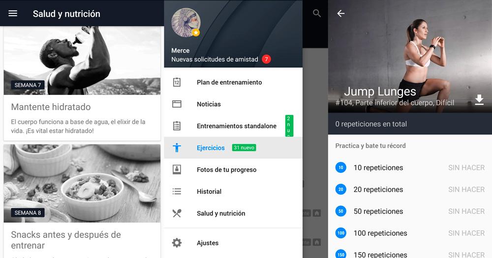 Runtastic Results: Una app para cumplir tus retos